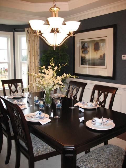 glenwood model home traditional dining room