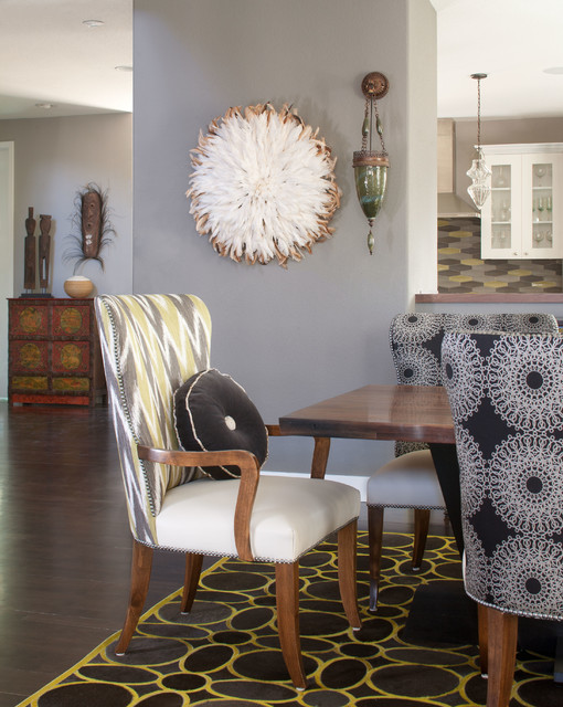 Global Contemporary eclectic-dining-room