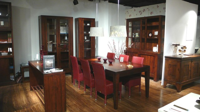Global Living / Bluefish Home - Showroom eclectic-dining-room
