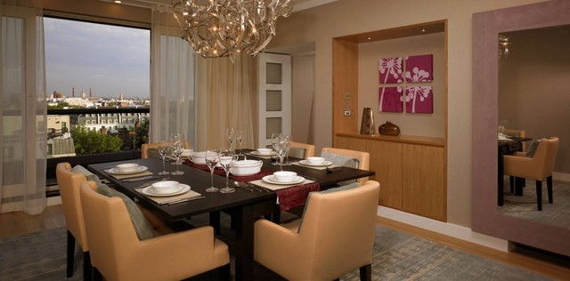 Gloucester Road Apartment contemporary-dining-room