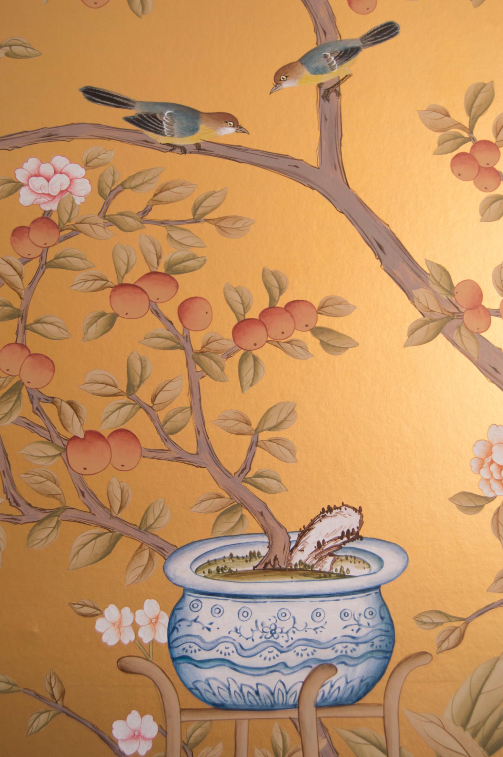 Golden Chinoiserie