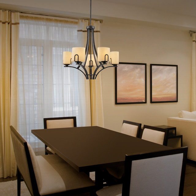 Golden Lighting traditional-dining-room