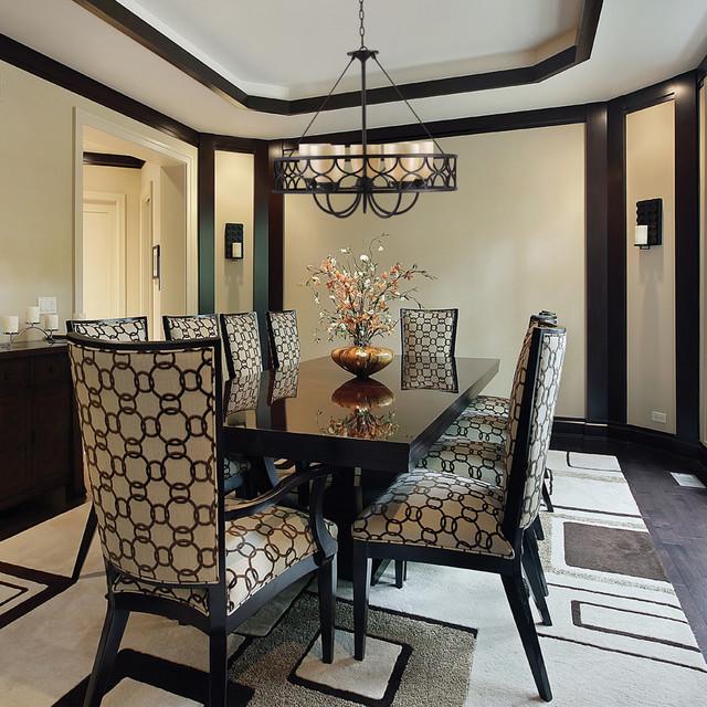 Golden Lighting eclectic-dining-room