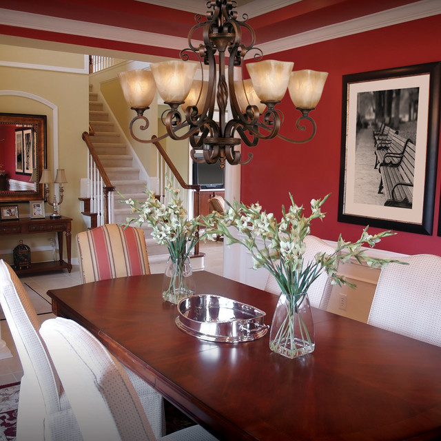 Dining Room Chandeliers Traditional: Golden Lighting