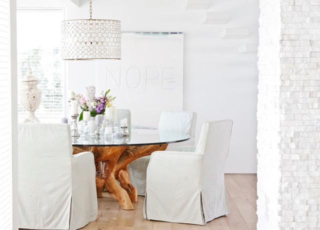 Grace Sea contemporary-dining-room