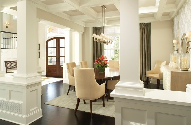 graham hill road residence dining room transitional