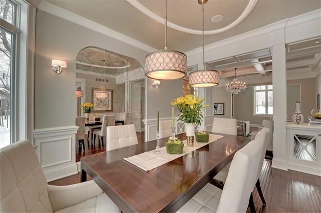 Graham Hill Transitional traditional-dining-room