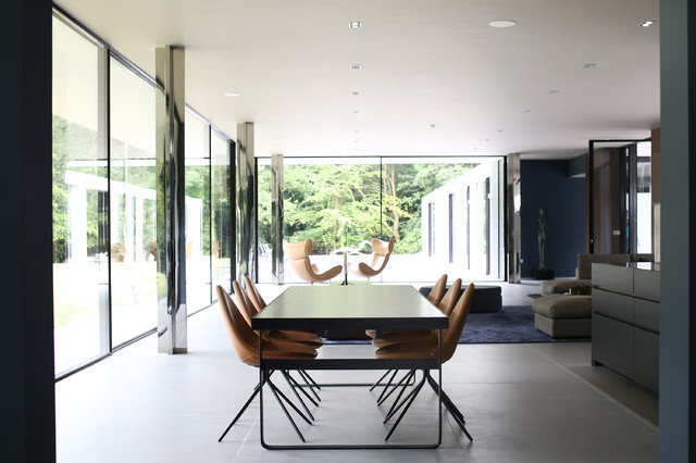 Grand Designs Property Modern Esszimmer London Von Home Exposure