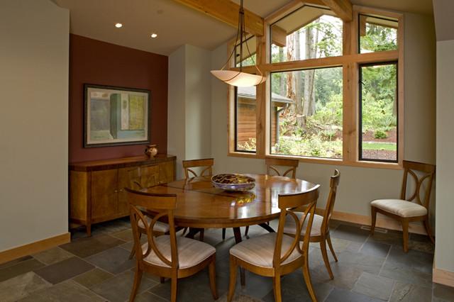 Grand Ridge Timberframe modern-dining-room