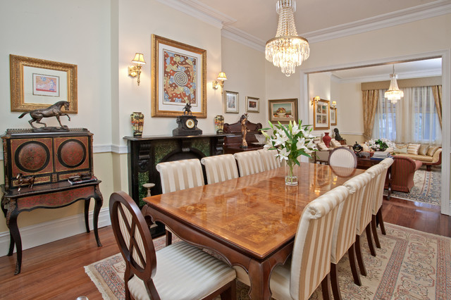 Grand Victorian Terrace Lower North Shore Traditional