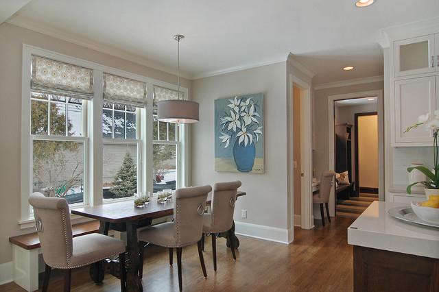Great Neighborhood Homes transitional-dining-room
