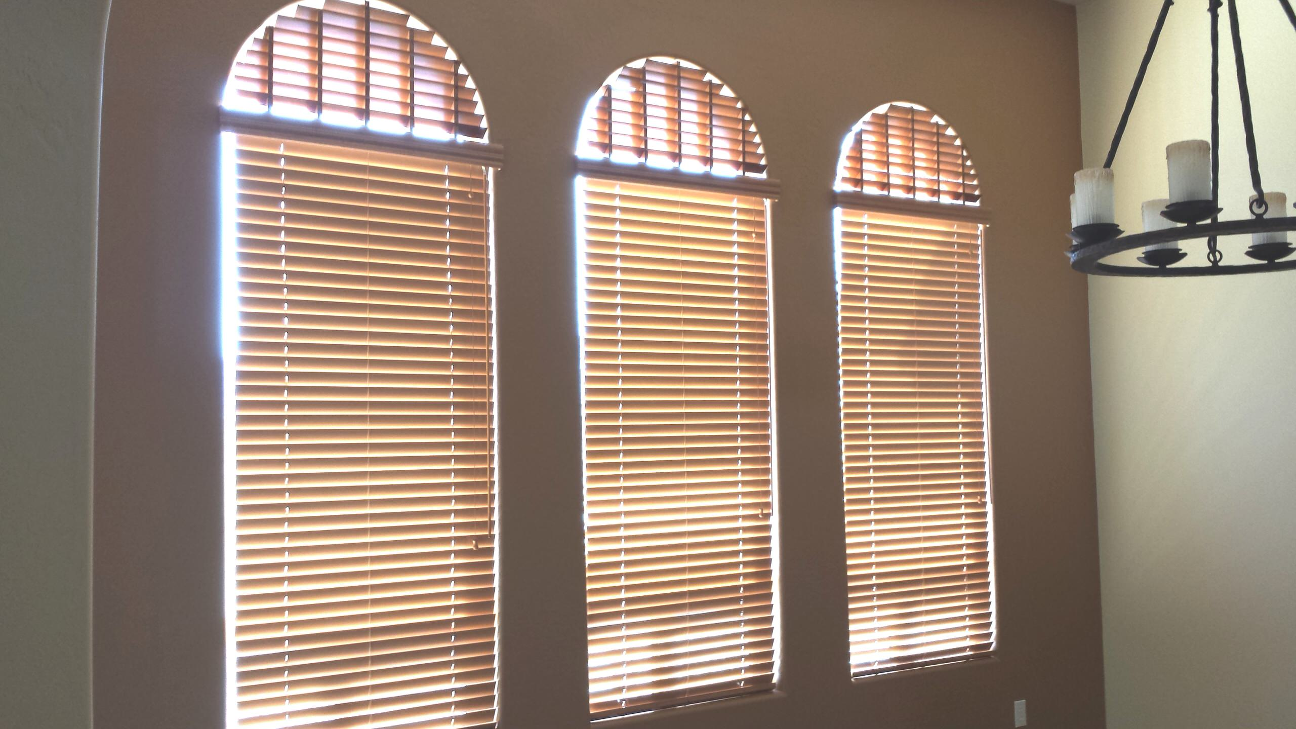 Arched Window Blinds Houzz