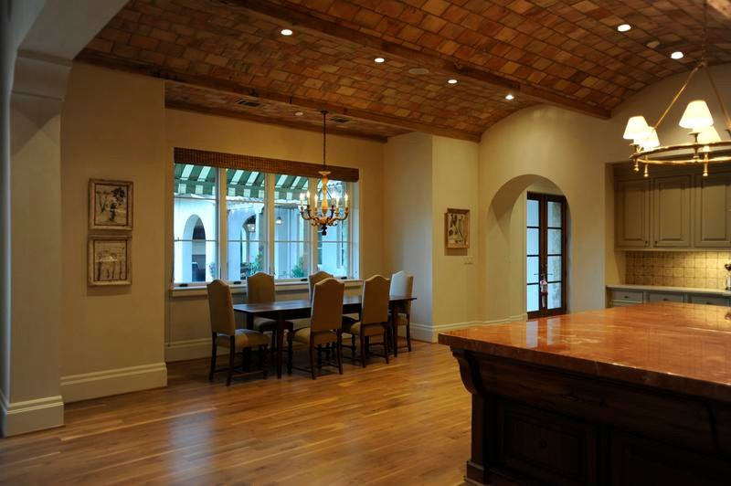 Great Room Dining and Kitchen