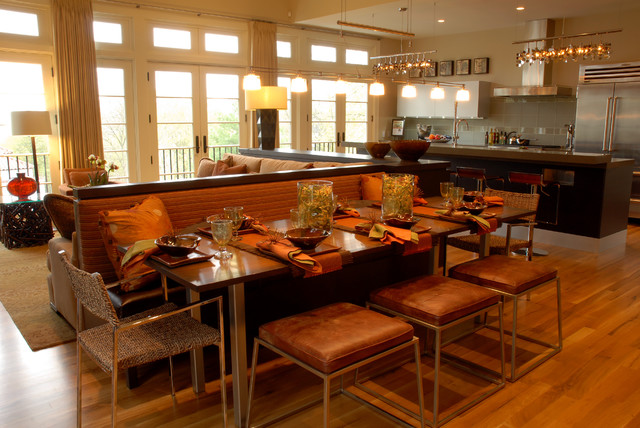Great Room contemporary-dining-room