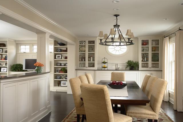 Greek Revival Remodel - Dining Room - Traditional - Dining ...