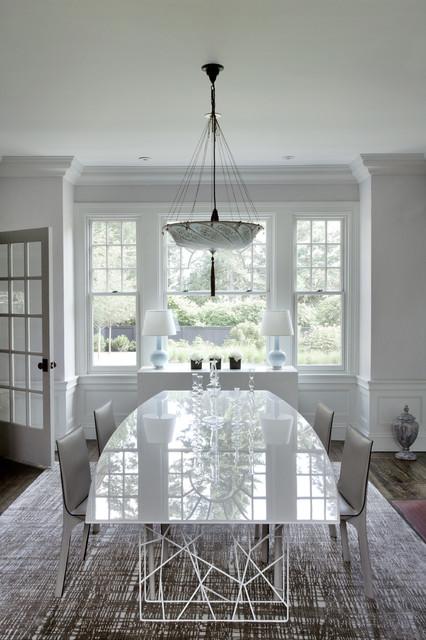 Green Gambrel Dining Room victorian-dining-room & Green Gambrel Dining Room - Victorian - Dining Room - Boston - by ...