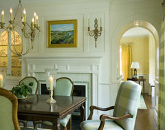 Citrus Bloom traditional-dining-room