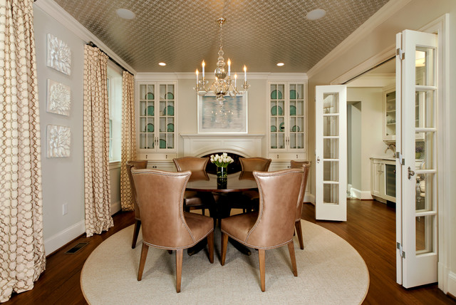GREEN with Envy: LEED Certified Whole House Renovation traditional dining room