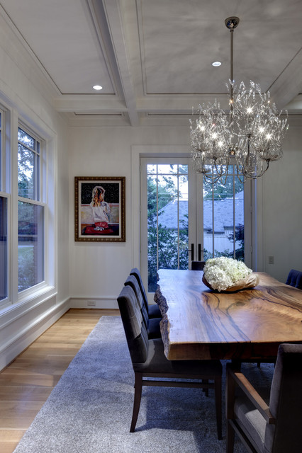 Greenbrier Residence contemporary-dining-room