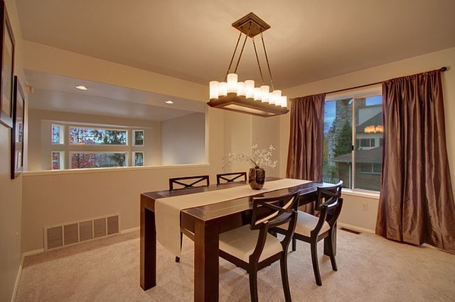 Greenlake 39 80s Townhouse Contemporary Dining Room