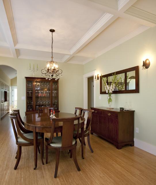 Greenlake Custom Home craftsman-dining-room