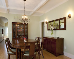 Greenlake Custom Home traditional dining room