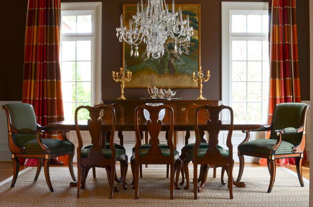 Greenway Interior Design: English House Victorian Dining Room