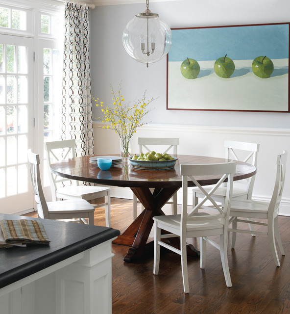 Greenwich Home contemporary-dining-room