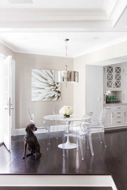 Greenwich Residence - Magazine Spread transitional-dining-room