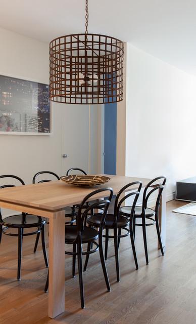 Greenwich Village Apartment contemporaneo-comedor