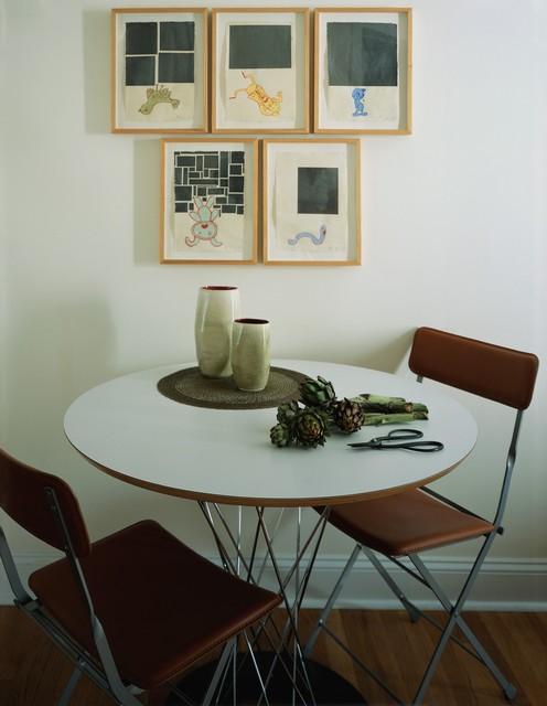 Greenwich Village Flat modern-dining-room