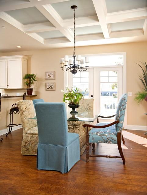 Greenwood craftsman model dining room beracah home modular home craftsman dining room - Modular dining room ...