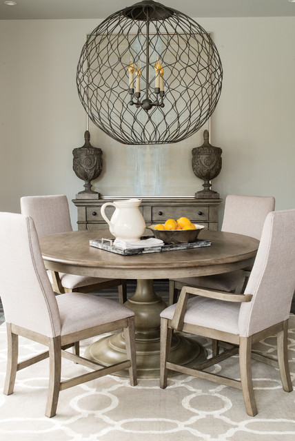 Greystone Collection transitional-dining-room