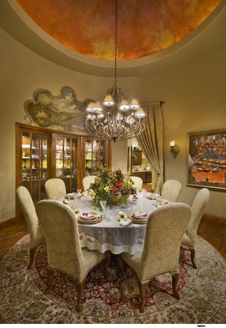 Grisell Navas traditional dining room