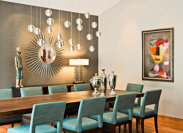 Groovy Dining Room Contemporary Dining Room