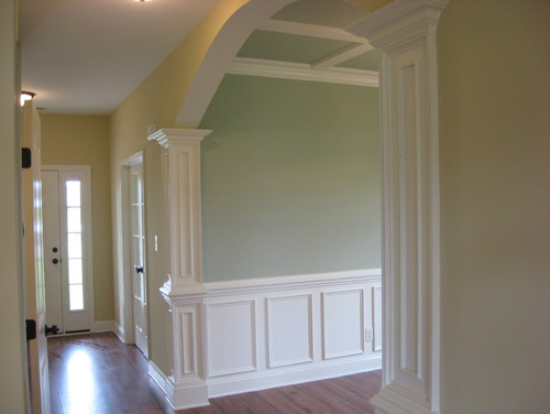Traditional Dining Room By Zebulon General Contractors GS Bailey Custom  Builders INC.