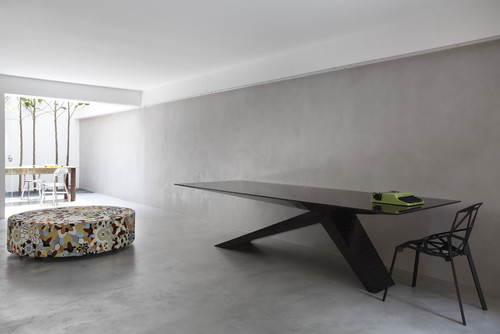 Captivating Is The Floor Polished Concrete Or Tiles?