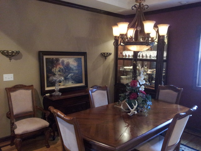 Guthrie Traditional Dining Room Other Metro By Mbn