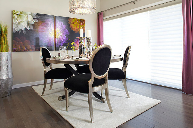 Hadleigh Show Home In Kincora NW Calgary Contemporary Dining Room Cal