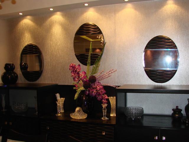 Hala & Wael modern-dining-room