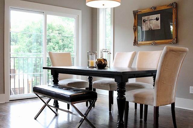 halcyon ave classique chic salle manger nashville par angela the stagers. Black Bedroom Furniture Sets. Home Design Ideas