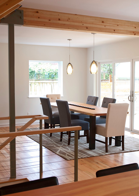 Hale Whole House Remodel and Addition modern-dining-room