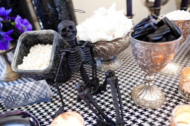 Halloween Bash modern-dining-room