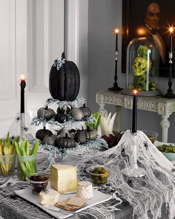 Halloween Deco dining-room