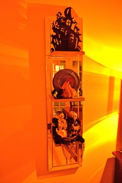 halloween decor contemporary-dining-room