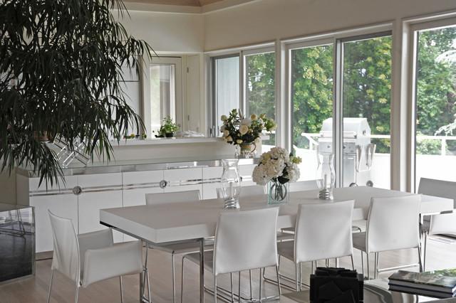 Hamptons Modern Living Room Modern Dining Room New