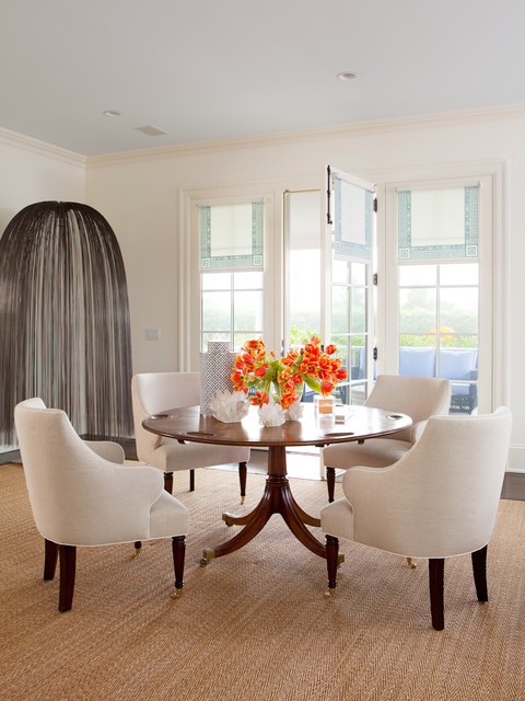 Hamptons Ny I Transitional Dining Room New York