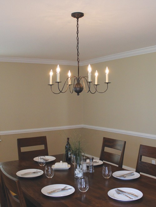 best colonial style lighting for dining rooms (reviews/ratings)