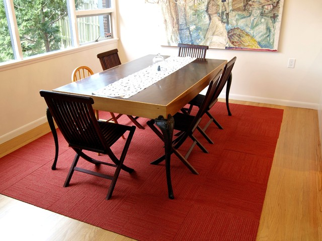 modern dining room by John Prindle