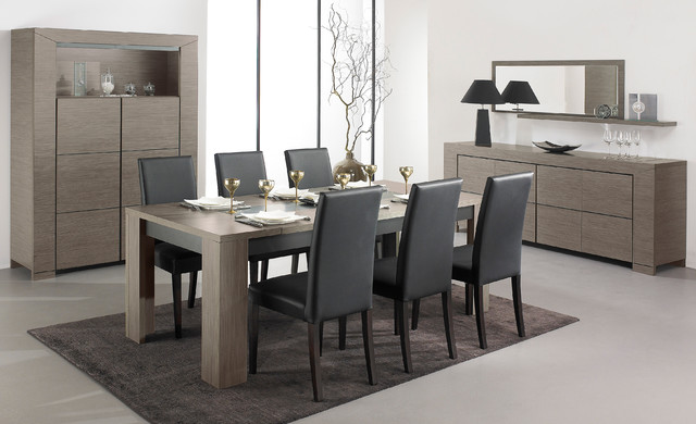 Hanna living room collection contemporain salle for Salle a manger 10 personnes